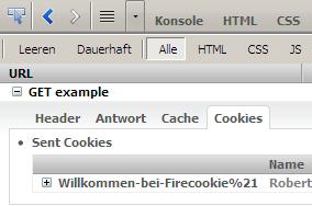 Firecookie: Netzwerk